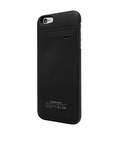 UNOTEC Schutzhülle mit Ersatzakku iPhone 6 / 6S Plus Powercase schwarz