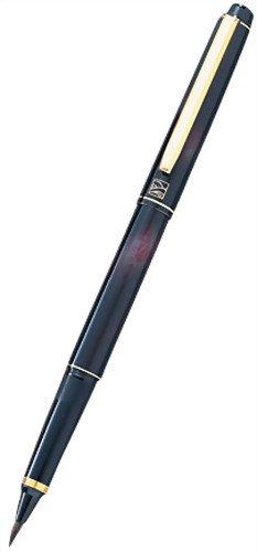 Kuretake くれ竹 Mannen brush this hair tortoiseshell style red DW140-50