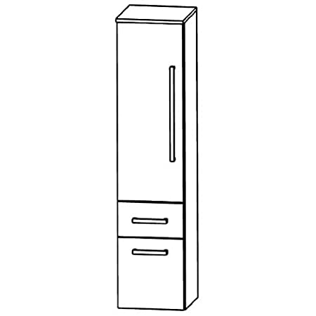 Puris Speed (MNA884AL / R Tall Cupboard Bathroom Cupboard 40 CM