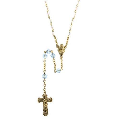 Aquamarine Rosary