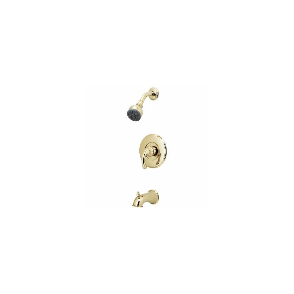 Price Pfister Treviso Pol Brass Tub Shower Set + Valve