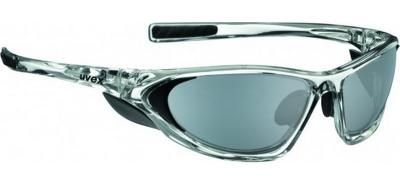UVEX Fahrradbrille Sportbrille attack clear