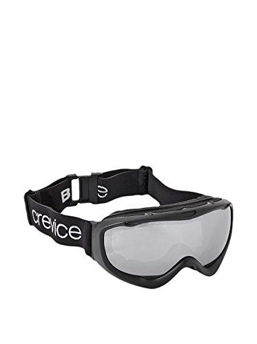 Black Crevice Occhiali da sci, Unisex, Skibrille, Nero/argento, Taglia unica