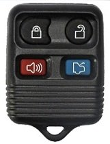2005-2010 Ford Focus Keyless Entry Remote Fob Clicker With Free Do-It-Yourself Programming and Free eKeylessRemotes Guide