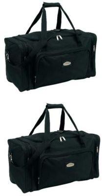 Reisetasche Luxus Line 2er Set schwarz