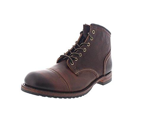frye-boots-logan-cap-toe-dark-brown-taille42
