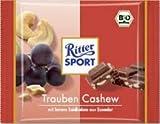 Ritter Sport - Bio Grapes & Cashew Chocolate - 65gr