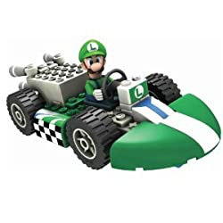 Nintendo Luigi and Standard Kart Building Set