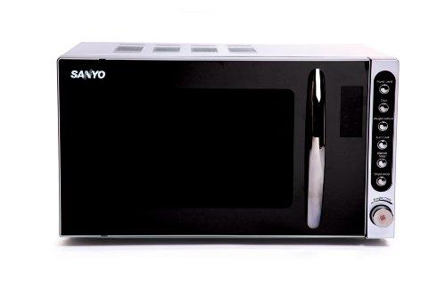 Sanyo EM-S2297V 17 litre 700 watt Solo Microwave Oven, Mirror Finish