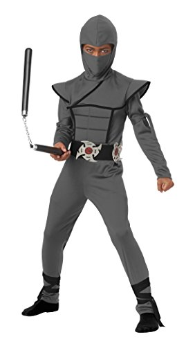 California Costumes Stealth Ninja Child Costume, Gray, Small