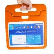 EVA Rugged Foam Case with Handle and Holder for Samsung Galaxy Tab 4 10.1 / T530 / Tab 3 10.1 / P5200 / P5210 (Orange)