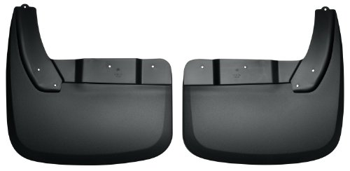 Husky Liners Custom Fit Rear Dually Mudguard for Select Dodge Ram Models - Pack of 2 (Black) (Truck Mud Flaps Dodge Ram compare prices)