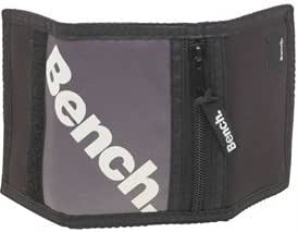 Bench Mens Eclipse Wallet Total Black/Grey