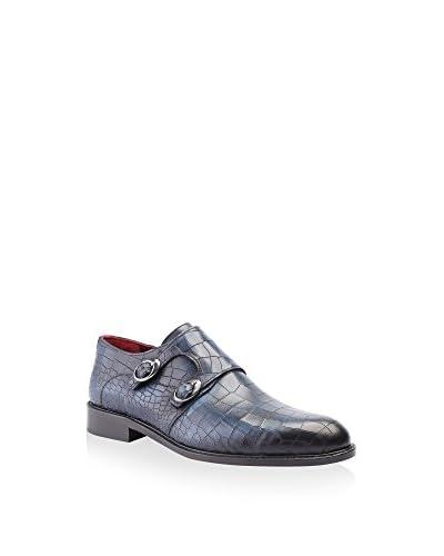 Deckard Zapatos Monkstrap Negro