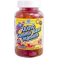 Rhino Gummy Bear Vitamin Chewable - 70 Per Pack -- 6 Packs Per Case.