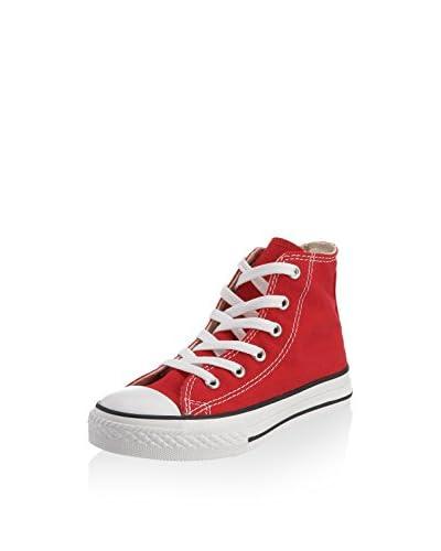 Converse Zapatillas abotinadas Chuck Taylor All Star Rojo