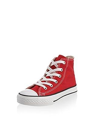 Converse Zapatillas abotinadas Chuck Taylor All Star (Rojo)