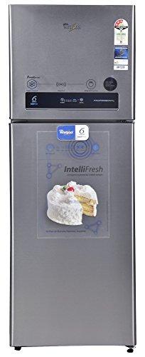 Whirlpool Pro 355 ELT 3S Frost-free Double-door Refrigerator (340 Ltrs, Alfa Steel)