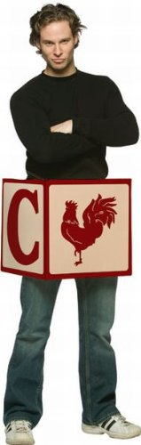 [Cock Block Costume - One Size] (The Funniest Halloween Costumes)