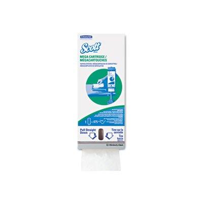 Scott 875 Cartridge Napkin - 8.4 in Overall Length - 98908 [PRICE is per EACH] 3m laminate floor grounding kit 3047 [price is per each]