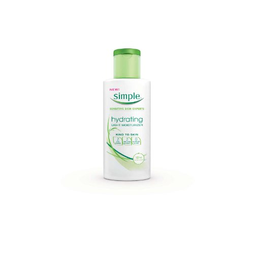 Simple Hydrating Light Moisturizer, 4.2 Ounce (Simple Cleansing Micellar Water compare prices)