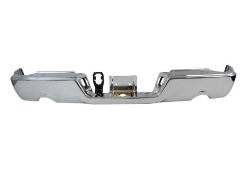 Rear Bumper Face Bar Chrome (W/O Sensor Hole, W/Dual Exhaust) Ch1102366 front-509855