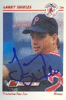 Larry Shikles Pawtucket Red Sox - Red Sox Affiliate 1991 Line Drive Pre Rookie... by Hall of Fame Memorabilia