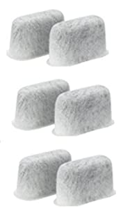 6 Replacement Charcoal Water Filters For Cuisinart Coffee Maker