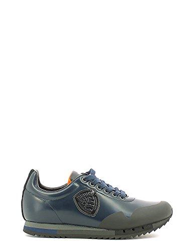 Blauer USA 6FNEWRUN/ABR Sneakers Uomo Pelle Navy Navy 43