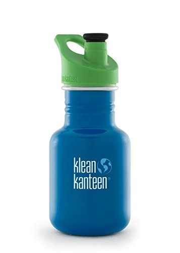 Klean Kanteen Kid's Sky Diver Stainless Steel Storage with 3.0 Sport Cap, 12-Ounce