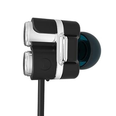 MOE SS01 Dual Driver IEM Earphones - Black