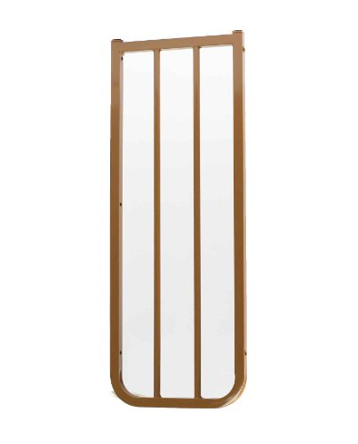 Cardinal Gates Extension for Outdoor Child Safety Gate, Brown, 10.5""