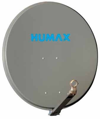 Humax 65 PRO SAT-Spiegel anthrazit
