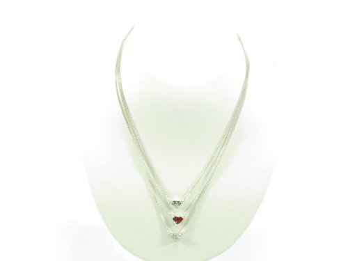 Guess Necklace 100028491 silver