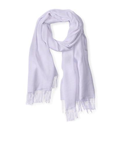 Alicia Adams Alpaca Women's Silk Wrap, Lilac