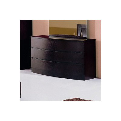 Maya 6 Drawer Dresser front-768779