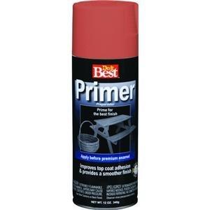 Do it Best Premium Primer, ALKYD RED SPRAY PRIMER