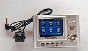 Button Spy Camera With Mp4 Recorder