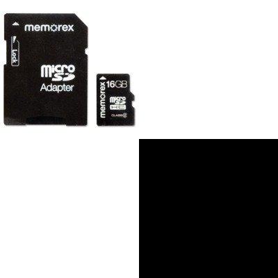 KITKMW38082MEM98456 - Value Kit - Kensington HP/Compaq Laptop Charger with USB Power Port (KMW38082) and Memorex microSD Travel Card (MEM98456)