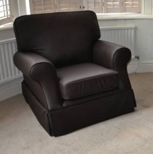 Laura ashley padstow leather chair kitchen home - Laura ashley office chair ...
