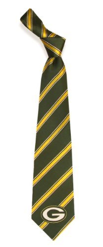 Green Bay Packers Woven Polyester Necktie at Amazon.com