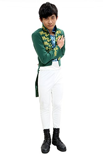 Halloween Prince Charming Costume Outfit for Dancing Party