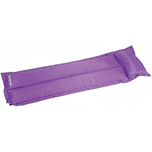 캡틴 스태그(CAPTAIN STAG) 인플레이션《―타부루》 pillow부 인플레이션《―틴구맛토》 퍼플 UB-3030