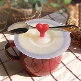 Heart Shape Handle Cup Lid Cover