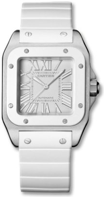 Cartier Women's W20122U2 Santos 100 Medium Watch