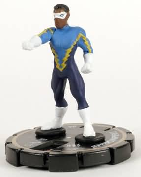 HeroClix: Jefferson Pierce # 204 (Limited Edition) - Collateral Damage