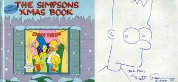 The Simpson's Xmas Book, MATT GROENING