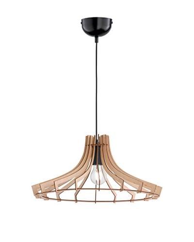 Trio Lighting Lámpara De Suspensión Wood