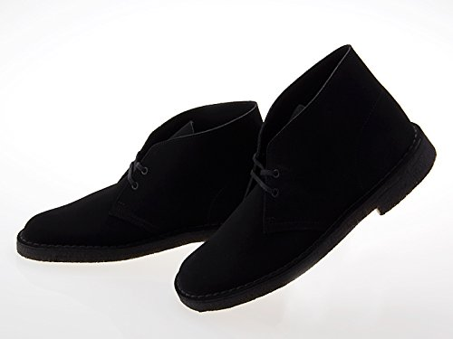 [クラークス] CLARKS DESERT BOOTS デザート ブーツ BLACK SUEDE ブラック スエード #26107882 26.0 cm (US8)