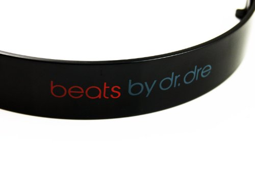 Replacement Headband Top Parts For Monster Beats By Dre Solo Solohd Repair (Black)